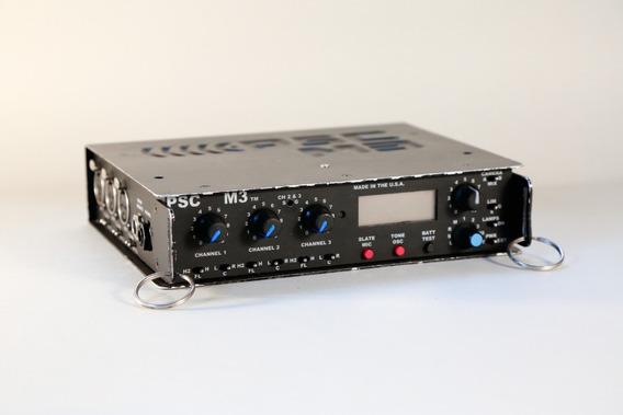 Mixer 3 Canais Psc M3 Para Som Direto - Ref. Sound Devices