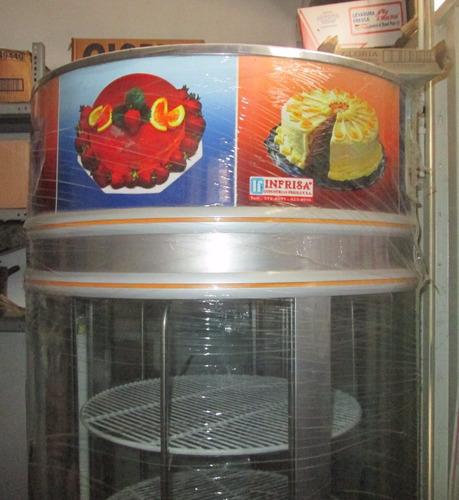 Exhibidora De Tortas-marca Infrisa Nueva