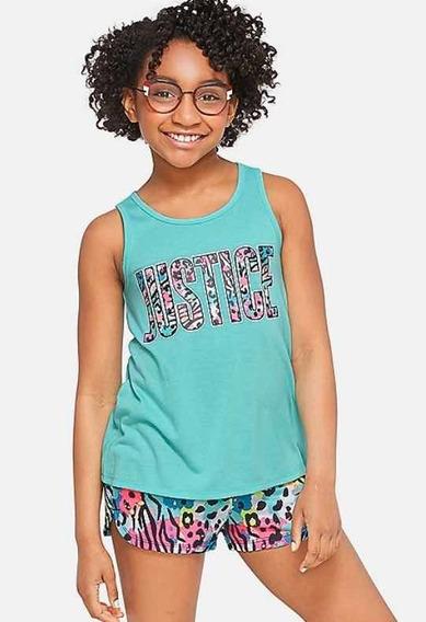 Pijama Nena Justice Varios Talles Original Usa