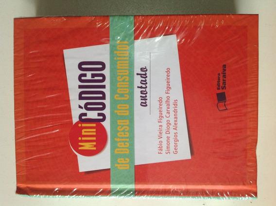 Livro Mini Código De Defesa Do Consumidor Anotado - Novo!