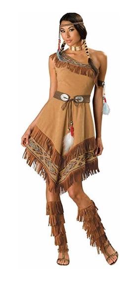 Disfraces Indios Siux Pareja Imp Usa