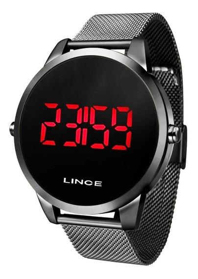 Relógio Lince Masculino Preto Mdn4586l Pxpx
