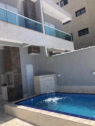 Sobrado Com 3 Dorms, Tupi, Praia Grande - R$ 620 Mil, Cod: 2413 - V2413