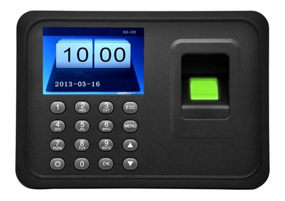 Control De Asistencia Biometrico Digital Huella Dactilar Usb