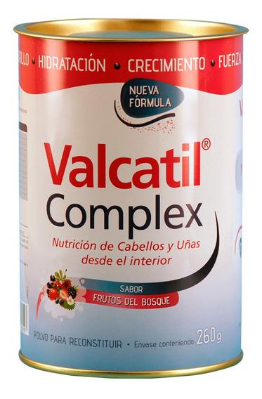 Suplemento Valcatil Complex Nutricion Cabello Uñas Polvo 260
