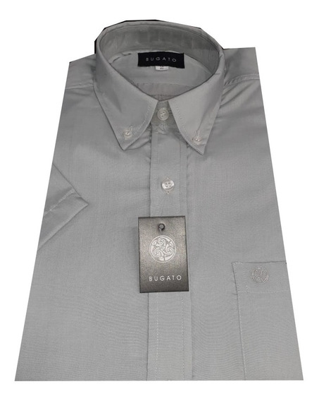 Camisa M/c Lisa Con Bolsillo Bugato (7155)