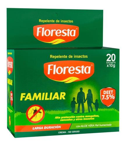 Repelente Floresta Familiar Cr 7.5% Deet 10 G C/20