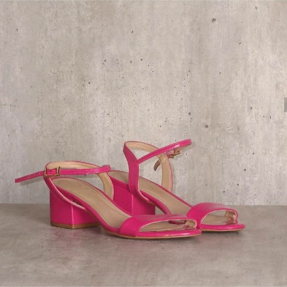 Sandália Pink Semi Nova