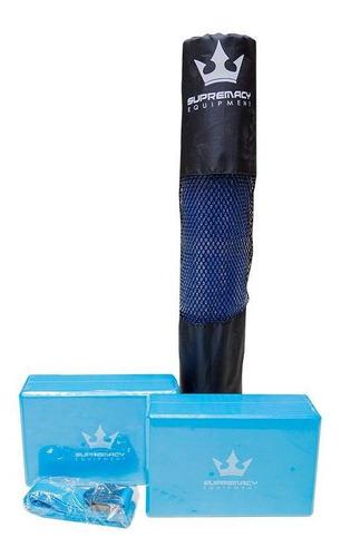 Set De Yoga Supremacy -  Azul( 5 Unds)