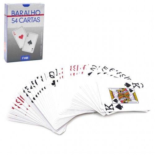 Kit 2 Deck De Baralho 108 Cartas Pôquer Mágica Truco