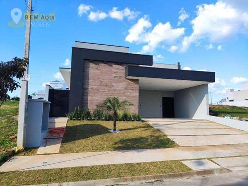 Imagem 1 de 30 de Casa Com 3 Dormitórios À Venda, 160 M² Por R$ 750.000,00 - Residencial Central Parque - Salto/sp - Ca1143