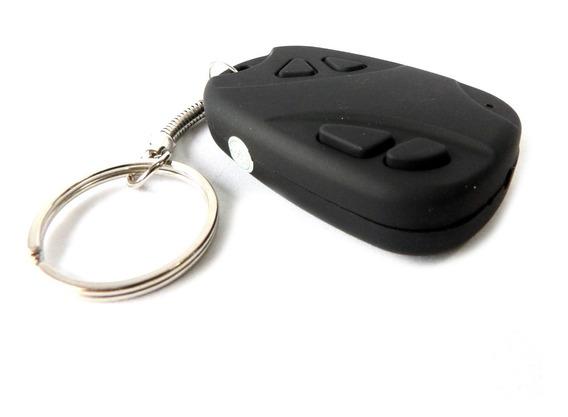 Cámara Espía Llavero Tipo Alarma De Auto Graba Audio Y Vídeo