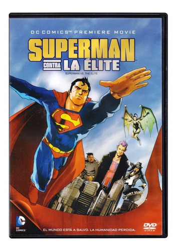 Superman Contra La Elite Dc Comics Pelicula  Dvd