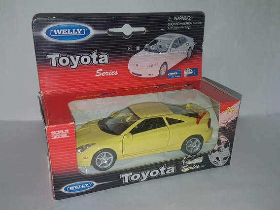 Toyota Celica 1/36 Welly, Inmaculado