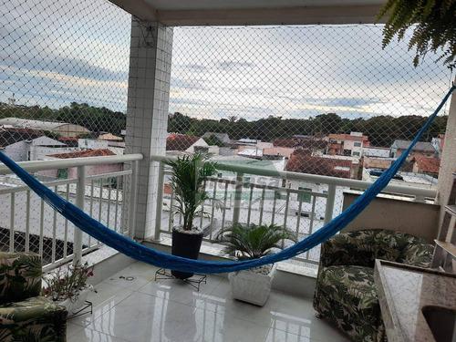Imagem 1 de 29 de Belíssimo Apartamento Em Condomínio Fechado Com 3 Quartos À Venda, 82 M² Por R$ 480.000 - Flores - Manaus/am - Ap3256