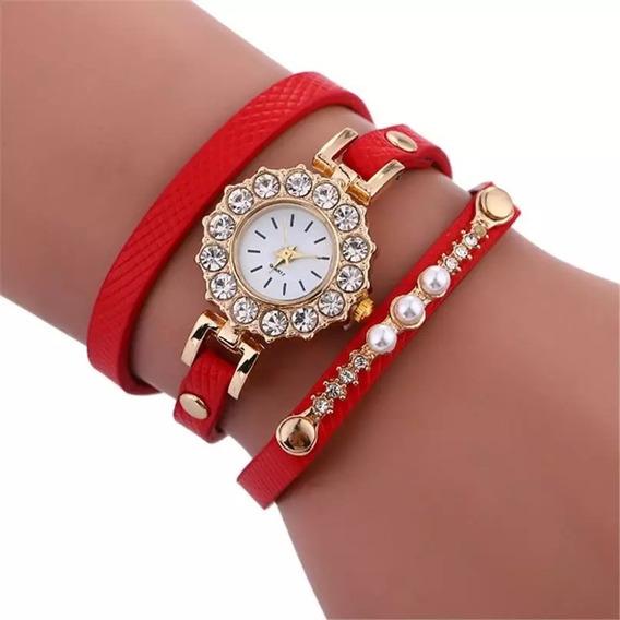 Kit Com 4 Relógios Femininos