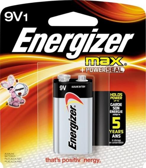 Bateria Alcalina 9v Energizer Max Bateria Alcalina