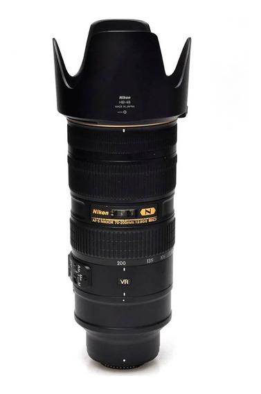Objetiva Nikon Af-s 70-200mm F/2.8g Ed Vr Ii (n)