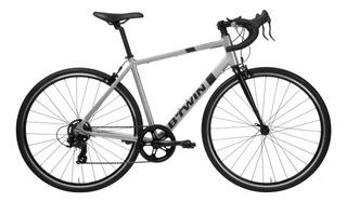 Bicicleta De Carretera Francesa Btwin Triban 100 Gris