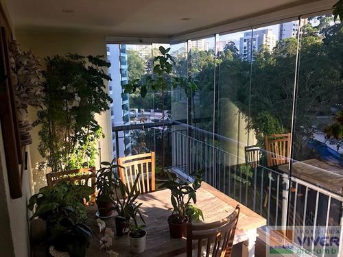 Imagem 1 de 15 de Apartamento Charmoso Com Terraço Gourmet! - Nm3644