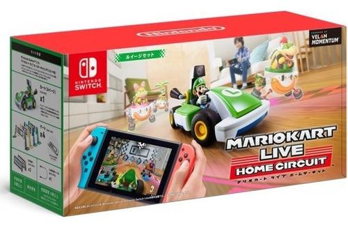 Imagen 1 de 4 de Mario Kart Live Home Circuit Luigi Set Nintendo Switch Luigi