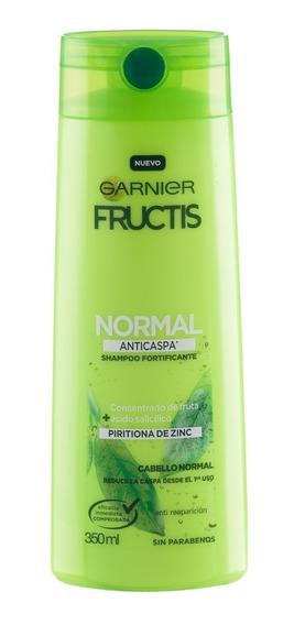 Shampoo Cabello Normal Anti Caspa X350 Fructis Garnier