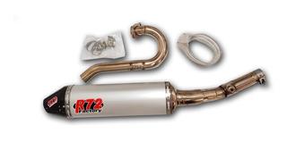 Escape R72 Moto Honda Crf 250 R 10/13 Completo Solomototeam