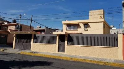 Ampliación Tepepan, Bonita E Iluminada Casa Sola En Venta