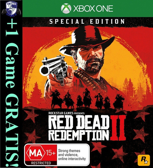 Red Dead Redemption 2 Xbox One Digital Off-line +1 Jogo Free