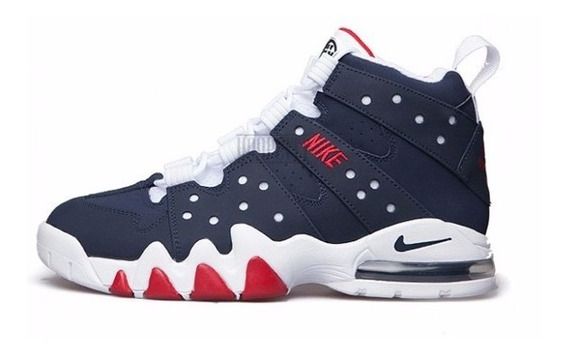 Tênis Nike Air Max Basquete 41 Charles Barkley Usa Azul Cb