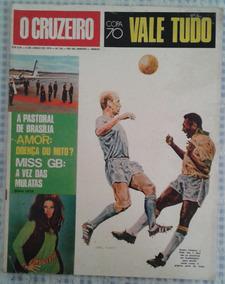 09/06/1970 Revista O Cruzeiro Capa Copa Do Mundo De Futebol