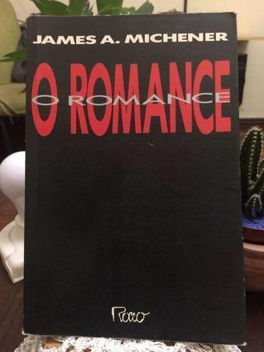 Livro O Romance James A. Michener