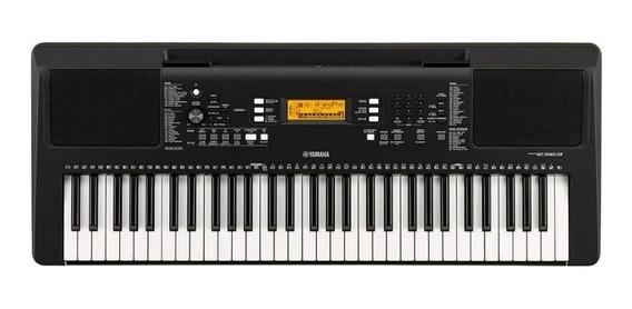 Teclado Musical Yamaha Psr-e363 Preto Com 61 Teclas E 574 T