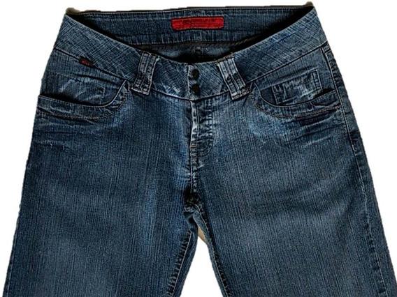 Calça Jeans Feminina Flare Egípcio - Ellus Original