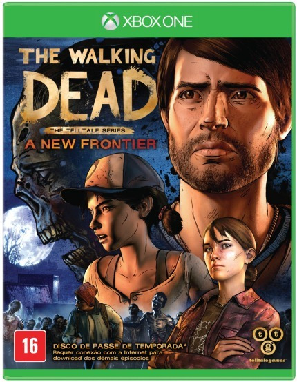 The Walking Dead A New Frontier Xbox One Mídia Física.