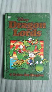 Hq Disney Dragon Lords O Reino Dos Dragões Capa Dura Ed Luxo