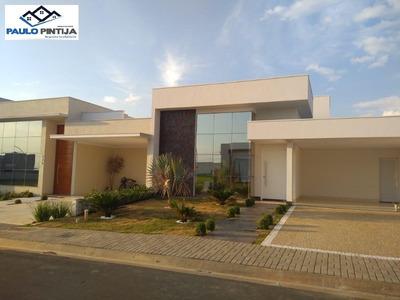 Casa Terrea Nova Com 3 Suítes E Piscina No Condomínio Dona Lucilla Em Indaiatuba - Ca04110 - 33959710