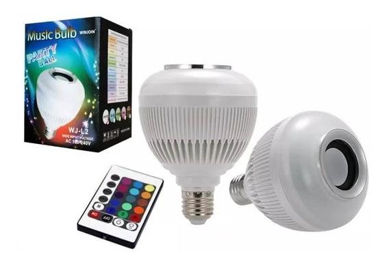 Lampada Luz Led Rgb Bluetooth Caixa Som + Controle Remoto Imperdível Somente Hoje Compra Agora Oferta Limitada Liquida