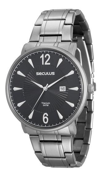 Relógio Seculus Titanium 20531g0svnt1