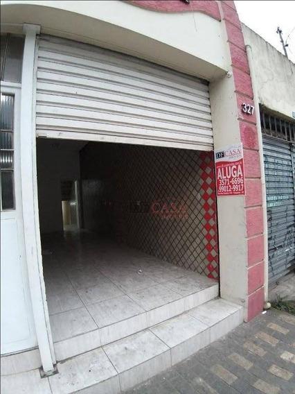 Salão Comercial Para Alugar, 30 M²por R$ 1.200/mês - Itaquera - Sl0030