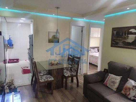 Apartamento Com 2 Dormitórios À Venda, 46 M² Por R$ 266.000 - Jardim São Luiz - Jandira/sp - Ap3261