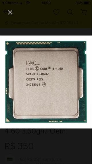 Processador Core I3 4160 (4 Geração)
