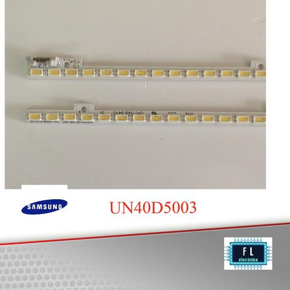 Réguas De Led Tv Samsung Un40d5003 (o Par)