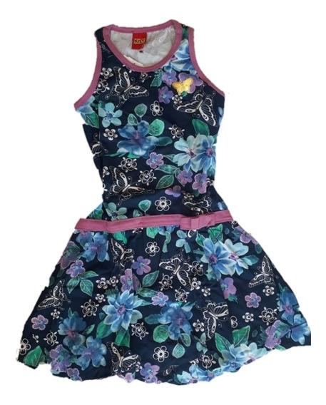 Vestido Kyly Infantil Balon Florado