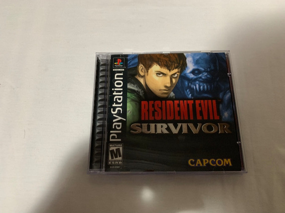 Resident Evil Survivor Ps1 Original Completo