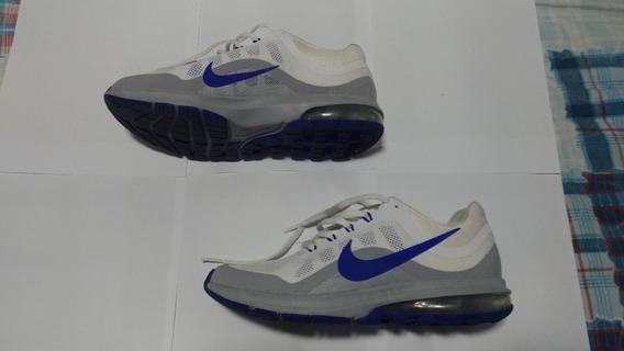 Tênis Nike Air Max Dynasty 2 Nas Cores Branco/azul/cinza