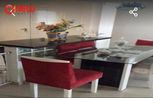 Apartamento Com 3 Dormitórios À Venda, 96 M² Por R$ 450.000 - Picanco - Guarulhos/sp - Ap1790