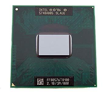 Processado Core 2 Duo Notebook T8100 Slauu