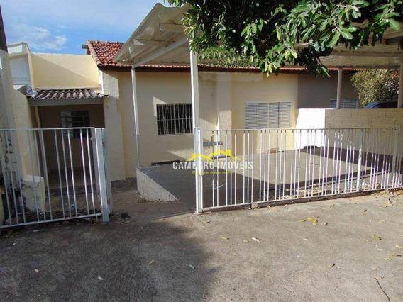 Casa Com 2 Dormitórios Para Alugar, 70 M² Por R$ 900/mês - Jardim São Domingos - Americana/sp - Ca2155