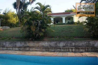 Chácara Residencial À Venda, Estância Figueira Branca, Campo Limpo Paulista. - Ch0116